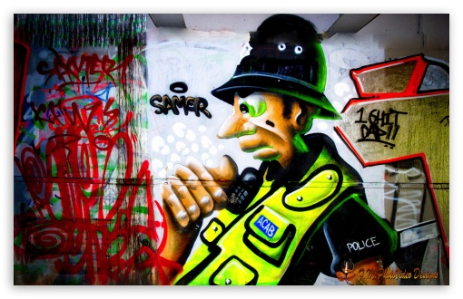 Police Graffiti ❤ 4K UHD Wallpaper for Wide 16:10 5:3 Widescreen WHXGA WQXGA WUXGA WXGA WGA ; 4K UHD 16:9 Ultra High Definition 2160p 1440p 1080p 900p 720p ; UHD 16:9 2160p 1440p 1080p 900p 720p ; Standard 4:3 5:4 3:2 Fullscreen UXGA XGA SVGA QSXGA SXGA DVGA HVGA HQVGA ( Apple PowerBook G4 iPhone 4 3G 3GS iPod Touch ) ; Tablet 1:1 ; iPad 1/2/Mini ; Mobile 4:3 5:3 3:2 16:9 5:4 - UXGA XGA SVGA WGA DVGA HVGA HQVGA ( Apple PowerBook G4 iPhone 4 3G 3GS iPod Touch ) 2160p 1440p 1080p 900p 720p QSXGA SXGA ;