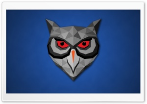 Poly Owl HD Wide Wallpaper for Widescreen