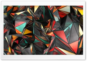 Polygon Abstract Art HD Wide Wallpaper for 4K UHD Widescreen desktop & smartphone