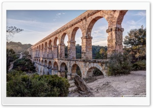 Pont del Diable Tarragona, Catalonia HD Wide Wallpaper for 4K UHD Widescreen desktop & smartphone