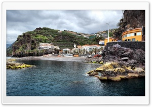 Ponta Do Sol Bay HD Wide Wallpaper for Widescreen