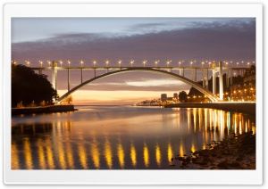 Ponte Arrabida - Porto - Portugal HD Wide Wallpaper for Widescreen