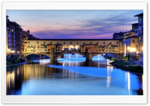 Ponte Vecchio HD Wide Wallpaper for Widescreen