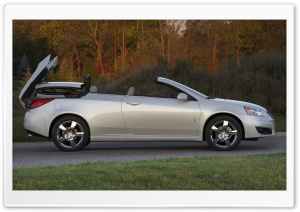 Pontiac G6 Convertible HD Wide Wallpaper for Widescreen