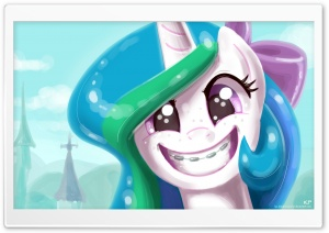 Pony Portrait's HD Wide Wallpaper for Widescreen