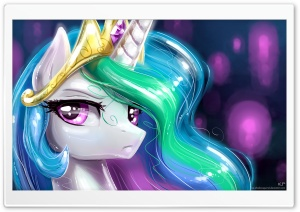 Pony Portrait's 2 HD Wide Wallpaper for Widescreen