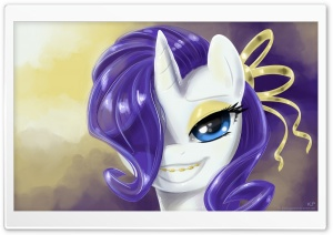 Pony Portrait's 6 HD Wide Wallpaper for Widescreen