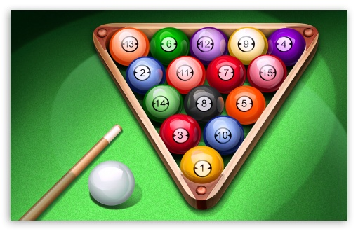 Pool Balls HD wallpaper for Wide 16:10 5:3 Widescreen WHXGA WQXGA WUXGA WXGA WGA ; HD 16:9 High Definition WQHD QWXGA 1080p 900p 720p QHD nHD ; Standard 3:2 Fullscreen DVGA HVGA HQVGA devices ( Apple PowerBook G4 iPhone 4 3G 3GS iPod Touch ) ; Mobile 5:3 3:2 16:9 - WGA DVGA HVGA HQVGA devices ( Apple PowerBook G4 iPhone 4 3G 3GS iPod Touch ) WQHD QWXGA 1080p 900p 720p QHD nHD ;