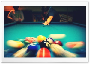Pool Billard HD Wide Wallpaper for Widescreen