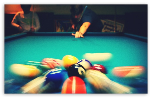 Download Pool Billard UltraHD Wallpaper