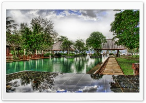 Pool In Malaysia, HDR HD Wide Wallpaper for Widescreen