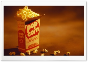 Pop Corn Bag HD Wide Wallpaper for Widescreen