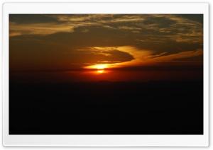 Por do sol - Sao Domingos - Brasil HD Wide Wallpaper for Widescreen