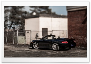 Porsche 911 997 Turbo S Cabriolet HD Wide Wallpaper for Widescreen