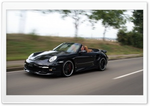 Porsche 911 Turbo Cabrio HD Wide Wallpaper for Widescreen