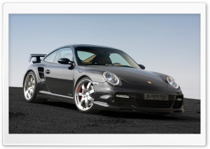 Porsche 911 Turbo Sportec HD Wide Wallpaper for Widescreen