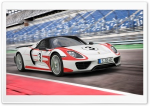 Porsche 918 2014 HD Wide Wallpaper for Widescreen