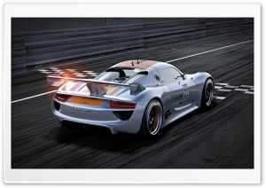Porsche 918 RSR HD Wide Wallpaper for Widescreen