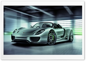 Porsche 918 Spyder HD Wide Wallpaper for Widescreen