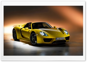 Porsche 918 Spyder 2014 HD Wide Wallpaper for Widescreen