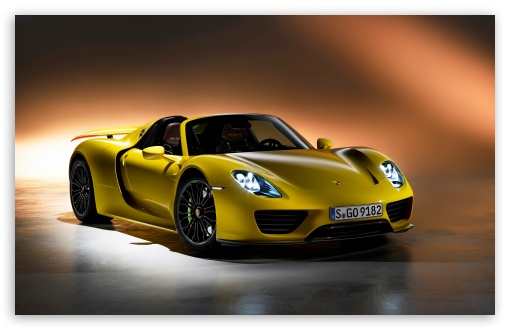 Porsche 918 Spyder 2014 4k Hd Desktop Wallpaper For 4k