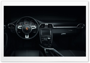 Porsche Black Edition 2011 HD Wide Wallpaper for Widescreen