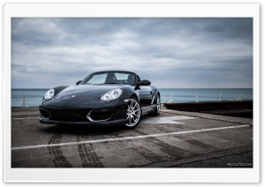 Porsche Boxster Spyder HD Wide Wallpaper for Widescreen