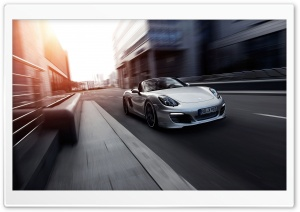 Porsche Boxter HD Wide Wallpaper for Widescreen