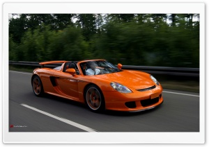 Porsche Carrera GT HD Wide Wallpaper for Widescreen
