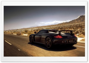 Porsche Carrera GT HD Wide Wallpaper for 4K UHD Widescreen desktop & smartphone