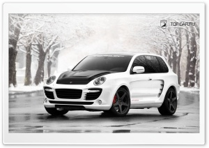 Porsche Cayenne Advantage GT HD Wide Wallpaper for Widescreen