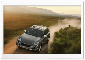 Porsche Cayenne Car HD Wide Wallpaper for Widescreen