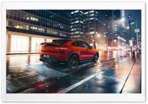 Porsche Cayenne, City HD Wide Wallpaper for Widescreen