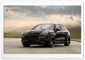 Porsche Cayenne Vantage GTR 2 HD Wide Wallpaper for Widescreen
