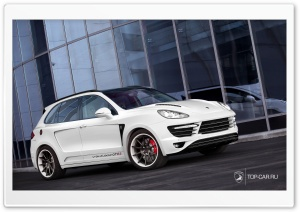 Porsche Cayenne Vantage GTR II HD Wide Wallpaper for Widescreen