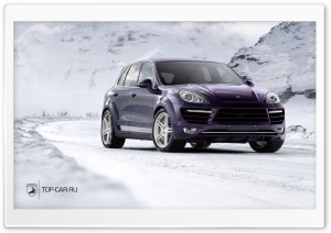 Porsche Cayenne Vantage II HD Wide Wallpaper for Widescreen