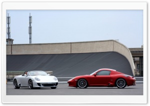 Porsche Cayman Cars HD Wide Wallpaper for Widescreen