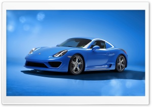 Porsche Cayman Moncenisio 2014 Art by Studiotorino HD Wide Wallpaper for 4K UHD Widescreen desktop & smartphone