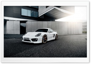 Porsche Cayman Techart 2014 HD Wide Wallpaper for Widescreen