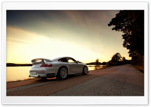 Porsche GT2 White HD Wide Wallpaper for Widescreen