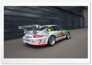 Porsche GT3 Race Car HD Wide Wallpaper for Widescreen