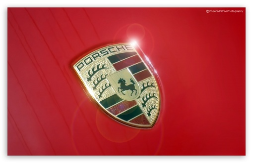 Download Porsche Logo HD Wallpaper