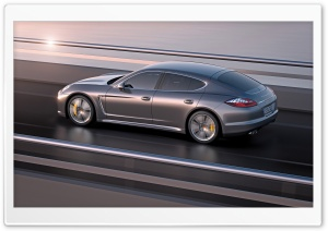 Porsche Panamera Turbo S HD Wide Wallpaper for Widescreen