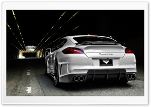Porsche Panamera Vorsteiner Tuning Rear HD Wide Wallpaper for Widescreen