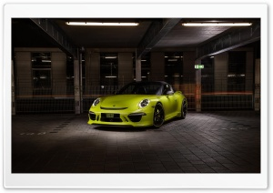 Porsche Techart 911 Targa 4S HD Wide Wallpaper for Widescreen