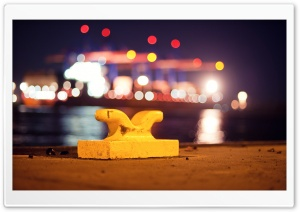 Port Bokeh HD Wide Wallpaper for Widescreen