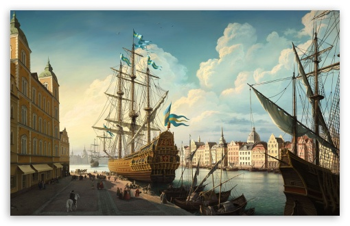 Port Painting HD wallpaper for Wide 16:10 5:3 Widescreen WHXGA WQXGA WUXGA WXGA WGA ; HD 16:9 High Definition WQHD QWXGA 1080p 900p 720p QHD nHD ; Standard 4:3 5:4 3:2 Fullscreen UXGA XGA SVGA QSXGA SXGA DVGA HVGA HQVGA devices ( Apple PowerBook G4 iPhone 4 3G 3GS iPod Touch ) ; Tablet 1:1 ; iPad 1/2/Mini ; Mobile 4:3 5:3 3:2 16:9 5:4 - UXGA XGA SVGA WGA DVGA HVGA HQVGA devices ( Apple PowerBook G4 iPhone 4 3G 3GS iPod Touch ) WQHD QWXGA 1080p 900p 720p QHD nHD QSXGA SXGA ;