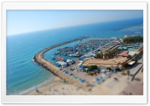 Port, Tilt And Shift HD Wide Wallpaper for Widescreen