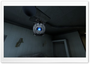 Portal 2 - Wheatley HD Wide Wallpaper for Widescreen