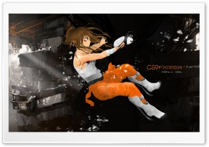 Portal 2_Chell Concept_CS9 Fx Design HD Wide Wallpaper for 4K UHD Widescreen desktop & smartphone